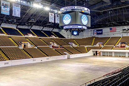 UWM Panther Arena Interior