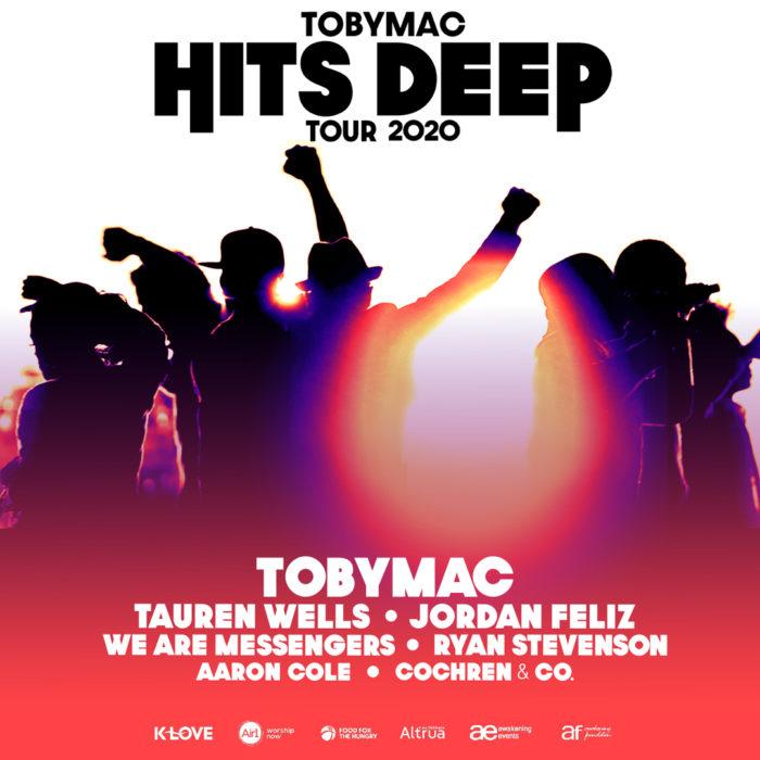 Toby Mac Hits Deep Tour 2020