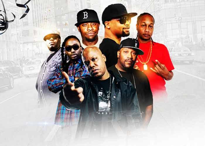 Legends of Hip Hop featuring Juvenile, Scarface, Too Short, DJ Quik, 8 Ball & MJG, and Bun B