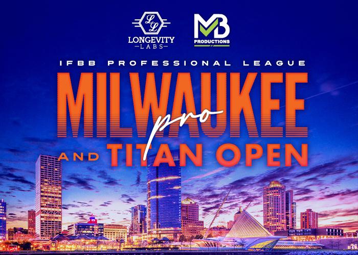 IFBB Milwaukee Pro & NPC Titan Open