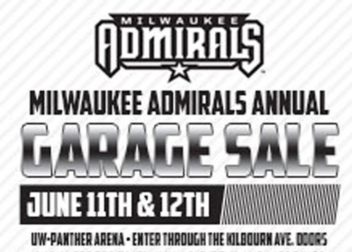 Milwaukee Admirals 2019 Garage Sale